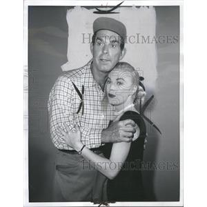 1957 Press Photo Frederick Martin MacMurray Movies - RRS34917