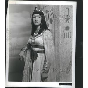 1954 Press Photo Anitra Stevena Actress Entertriner - RRS72551