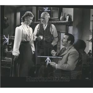 1947 Press Photo Ramrod Scene Film Lake Ruggles Foster - RRS17225