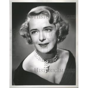 1956 Press Photo Julie Stevens English Actress - RRS72643