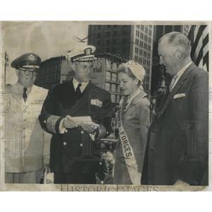 1957 Press Photo Wright occupational surname England - RRS82531