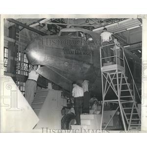 1944 Press Photo Madison Wac Recruiting Exhibit Million - RRS94615
