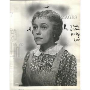 1939 Press Photo Alice Brady Silent Film Actress - RRS55409