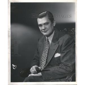 "1946 Press Photo Hugh Studebaker ""Bachelor's Children"" - RRS47909"