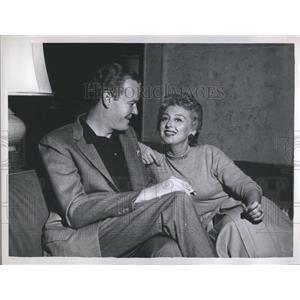1958 Press Photo Andrew Duggan Character Actor - RRS07635
