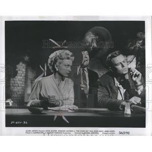 1956 Press Photo Anne Baxter Sterling Hayden super scop - RRS93725