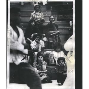 1975 Press Photo Highland Park High School Karate Champ - RRS40845