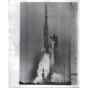 1962 Press Photo Rockets Type Ranger 5 - RRS62459