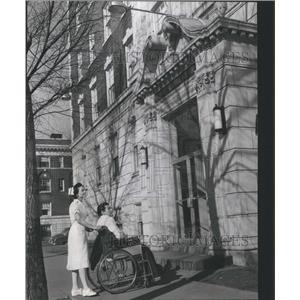 1931 Press Photo Williams Rossevelt Memorial Hosp Nurse - RRS55817