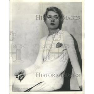 1933 Press Photo The Apple Cart Play Actress Cooper - RRS67441
