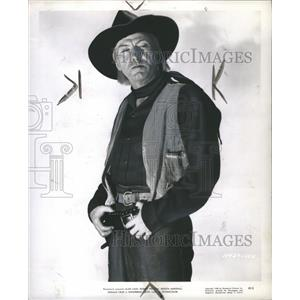 1949 Press Photo Actor Frank Faylen In Whispering Smith - RRS31993