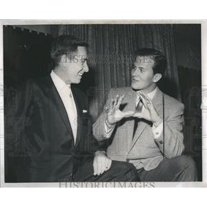 1959 Press Photo Randy Wood Boone Story - RRS05155