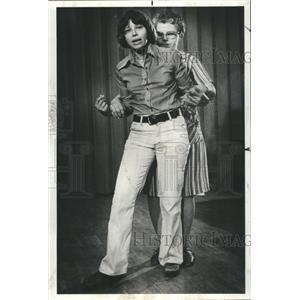 1977 Press Photo Teacher Susan Gould Woman Self Defense - RRS40847