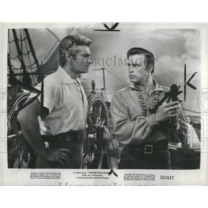 1952 Press Photo Jeff Chaudler Scott Brady - RRS12023