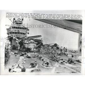 1966 Press Photo Wasp Crew Gemini Spalsh Flight - RRS94809