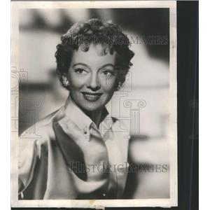 1955 Press Photo Evelyn Louise Keyes - RRS67867