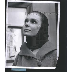 1956 Press Photo Susan Elizabeth Strasberg American - RRS66661