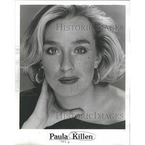 1953 Press Photo Lady Loose Hair Paul Kellin - RRS44613