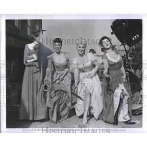1955 Press Photo Kitty Kallen American Philadelphia - RRS82975