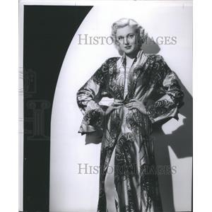 1950 Press Photo Jan Sterling American Actress - RRS72471
