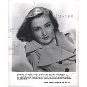 1949 Press Photo Nina Foch Star light ,star bright - RRS30781