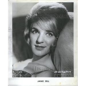 1965 Press Photo Jane Ann American Actress Andrews