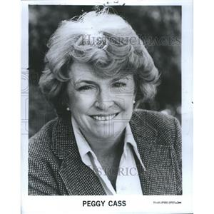 1980 Press Photo Mary Margaret Peggy Cass Actress Ameri - RRS41727