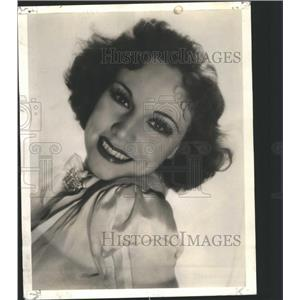 1941 Press Photo Actor Audrey Christie close up photo - RRS67883