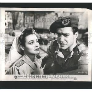 1950 Press Photo Hasty Heart Patricia Neal Richard Todd - RRS89589