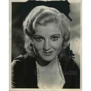 1952 Press Photo Actress Jacquelyn Allen
