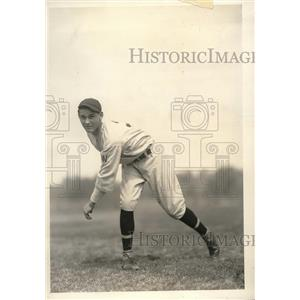 1934 Press Photo Steve Molnar, Washington Spring Camp