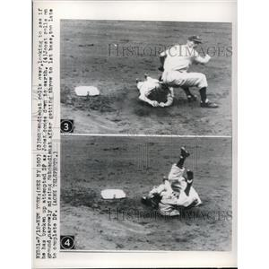 1949 Press Photo Schoendienst & Joost Rolling - nes00690