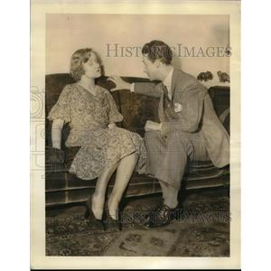 "1933 Press Photo Temple & Hole Star in ""Who Killed John Prosser?"" - nez02732"