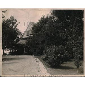 1919 Press Photo Former President Roosevelt Home at Oyster Bay in Long Island
