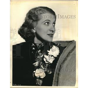 1937 Press Photo Donna Damerel Marge on Myrt and Marge on Columbia network