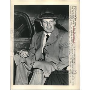 1949 Press Photo Leo Durocher New York Giants manager - nes05248