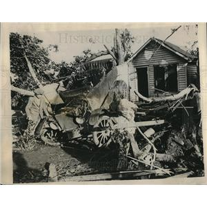 1928 Press Photo Tornado Damage 50 Miles from Denver Colorado