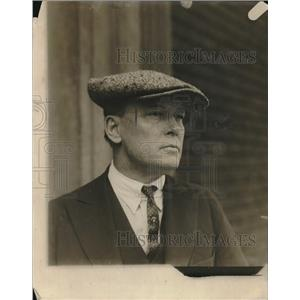 1921 Press Photo Max Balshasar, coast flight expert. - nec08424
