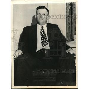 1935 Press Photo Sheriff JF Williams JR Eufala Alabama - nec35297