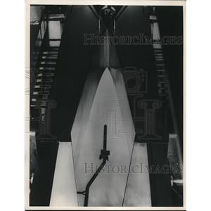 1949 Press Photo Hypersonic throat and Nozzle for Mach 10. - nec33374