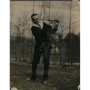 1917 Press Photo Georgia Golfer Tom Prescott Out On The Links - nez07966
