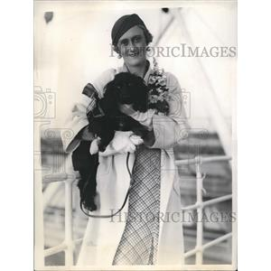 1933 Press Photo The actress Marie Lieb prefers art than money