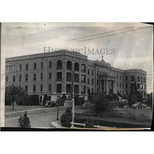 1935 Press Photo Our Lady of the Lake Sanitarium in Baton Rouge