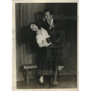 1928 Press Photo Rehearsal of Harvard Drama Club - nex10693