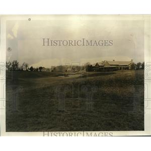 1931 Press Photo View Approach to 18th Green Inverness Course Toledo