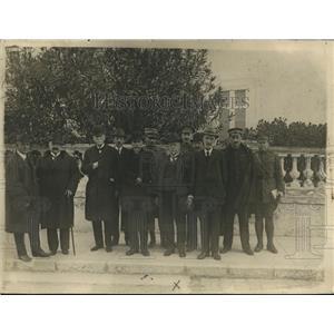 1919 Press Photo Executive Council, Cannes Medical Congress