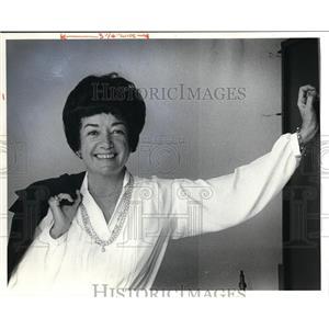 1980 Press Photo Barbara Baxter