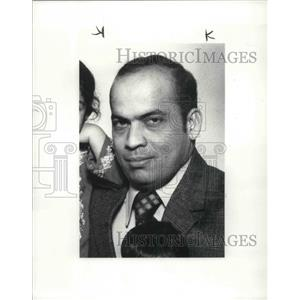 1986 Press Photo of 1976 Photo of Saleem Ahmed Pan Am Hostage - cva02658