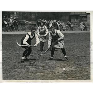 1933 Press Photo Women's field hockey Philadelphia teams - nes20880