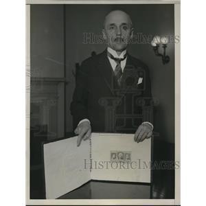 1932 Press Photo Titus Filirowicz Polish ambassador